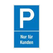 Znak za zabranu parkiranja i zaustavljane od plastike
