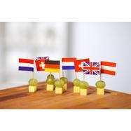"""Zastavice za uzorke hrane """"Države"""""""