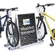 Stender za bicikle sa aluminijumskim klik okvirom u centru,sa 2 dodatna elementa