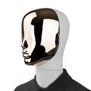 """Ftontalni deo glave za lutku za izlog """"Magic"""",u zlatnij optici"""