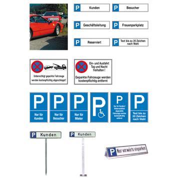 Znak za zabranu parkiranja i zaustavljanje od aluminijuma