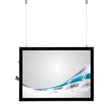 "LED svetlosni okvir ""Ecomag"", srebrni"