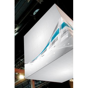digitalno stampani baner za streč sistem okvira,,Cube,,
