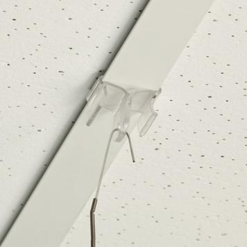 Plasticni drzac za plafon.kuke 90 stepeni