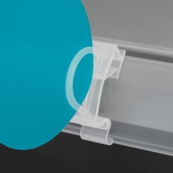 Klip za 39 mm skener profila