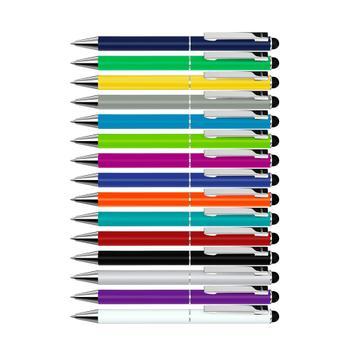 Metalna hemijska olovka,,Straight Si Touch,,sa touchscreen dodatkom