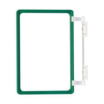Regalstopperfür für DIN A1 + DIN A2 Rahmen an Traversen und Stahlwänden