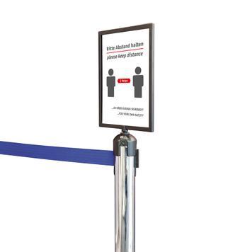 Držač znaka za barijerne stubove