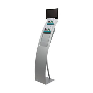 """Prospektni stender sa digitalnim okvirom za slike""""STAND.Flash SIZE Slimline14"""""""