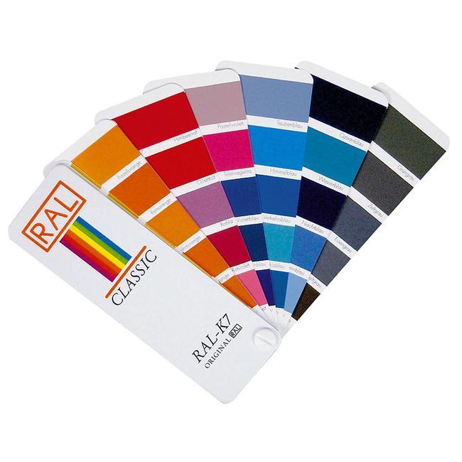 RAL -K7 karta u boji