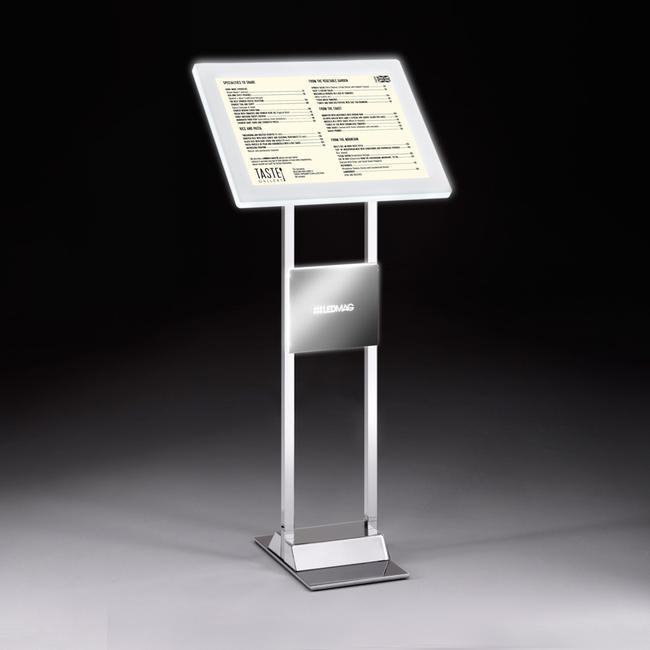LED magnetni okvir Info Displej ,hromiran,od pocinkovanog celika sa LED Magnetnim okvirom