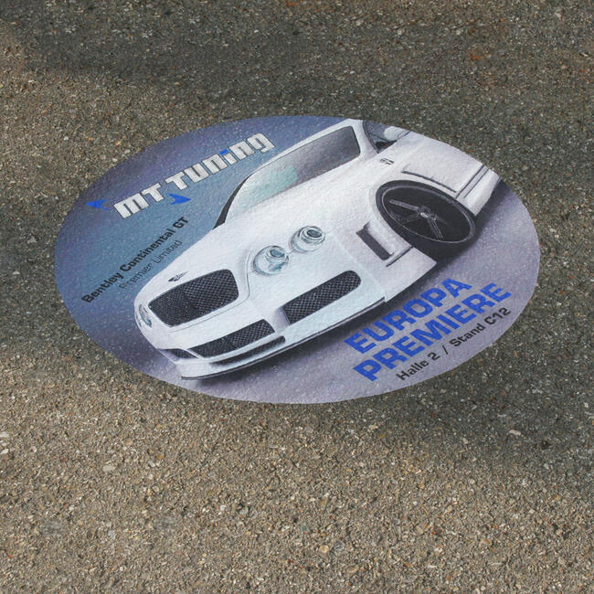 Nalepnica za asfalt