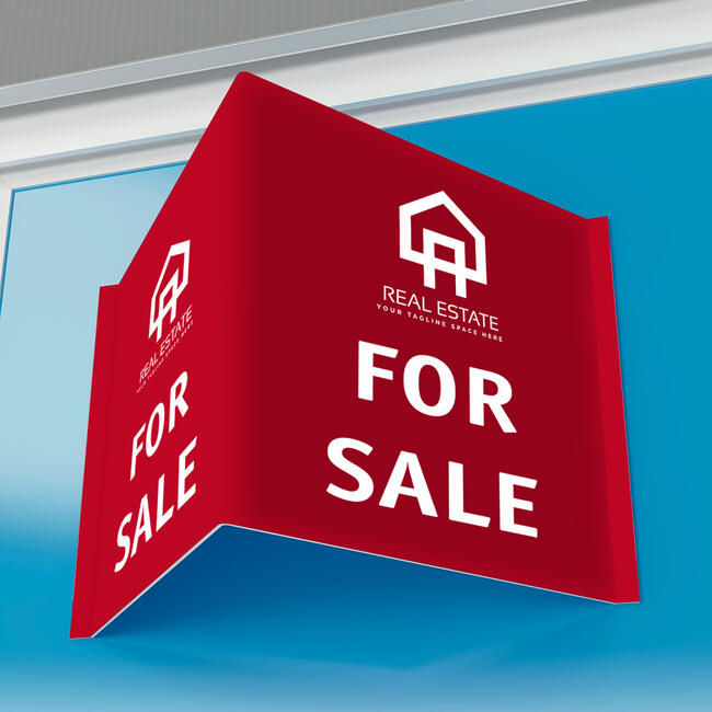 Tabla za agente za nekretnine PP-duplog panela