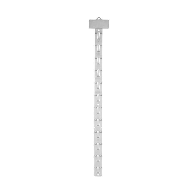 Blisterleiste transparent mit Topschild, 12 Aufhängemöglichkeiten