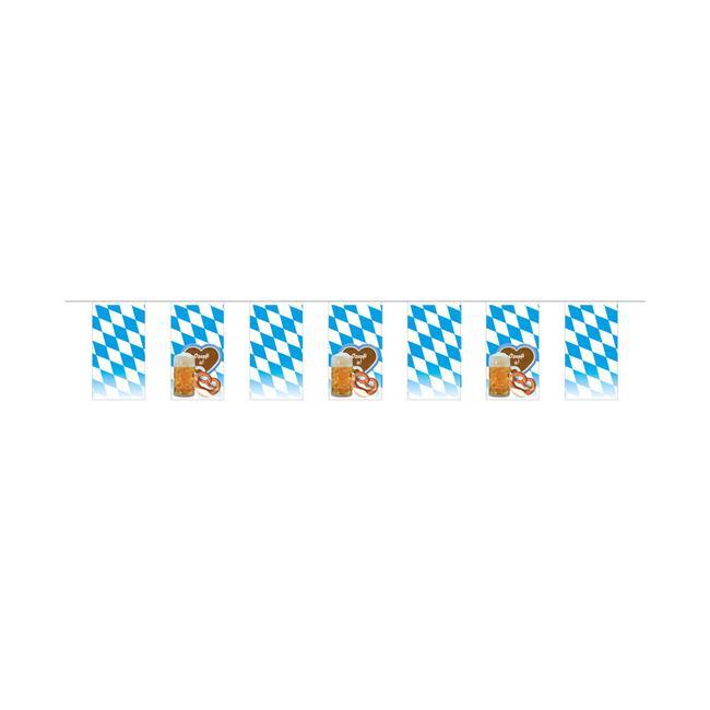 """Lanac sa zastavicama """"Bavarska lozenga i motiv,,"""