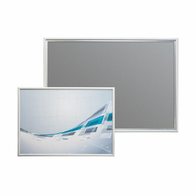 Preklopni okvir, 15 mm profil,sa gerungom,srebrno eloksiran