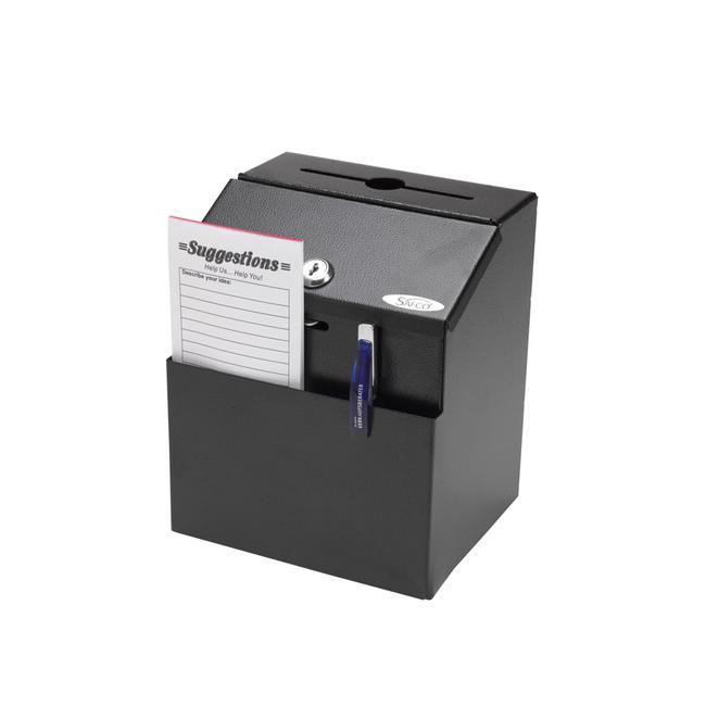 Kutija za sugestije ,celicna,crna