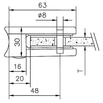 stakleni stezači za montažu na cevi