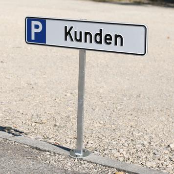 Displej stubovi za znakove za parkiranje
