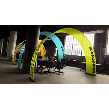 Bannerbow Indoor - promotivna strelica za dogadjaje