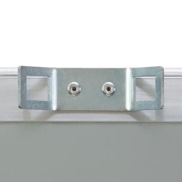 aluminijumski preklopni ramovi sa držačima lampi